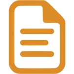 icon of a text document
